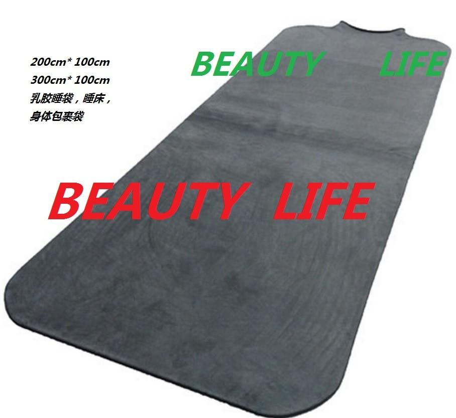اللاتكس النوم السرير حقيبة صنم عبودية الجسم حقيبة الجسم فراغ السرير دون إطار الرقبة مدخل و رئيس خارج