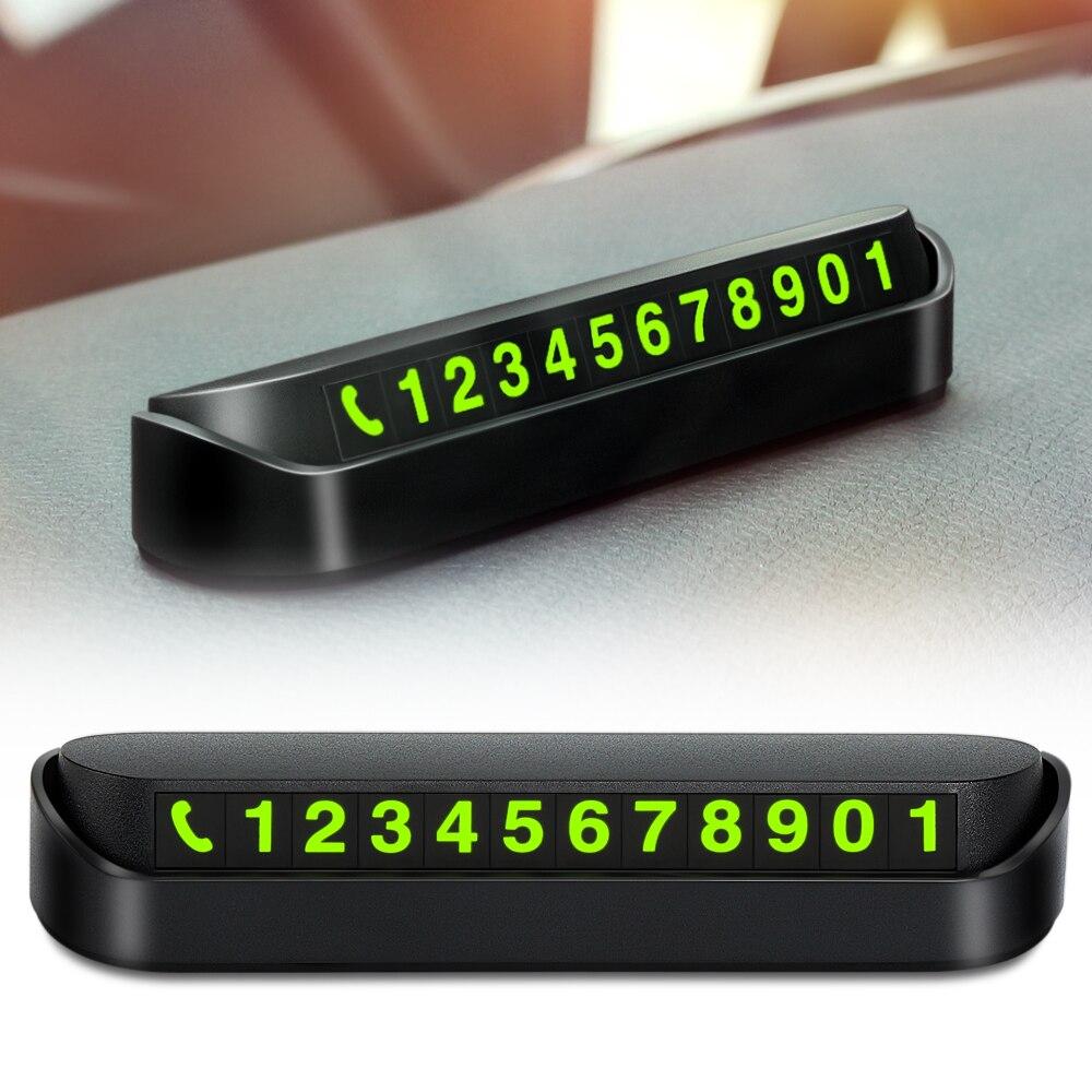 Hideable Car Phone Number Card Plate Stickers for Fiat grande punto 500 ducato panda Chevrolet Captiva Lacetti Opel Insignia