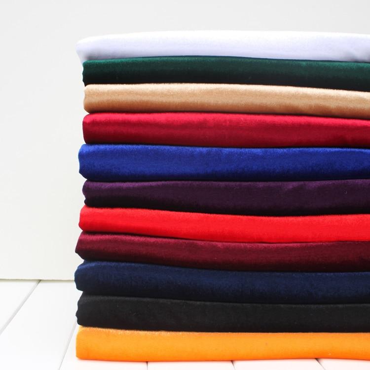Шелковая Бархатная ткань, велюровая ткань, плиссированная ткань, скатерть, покрытие для стола, украшение для штор, ширина 60 дюймов, продаетс...