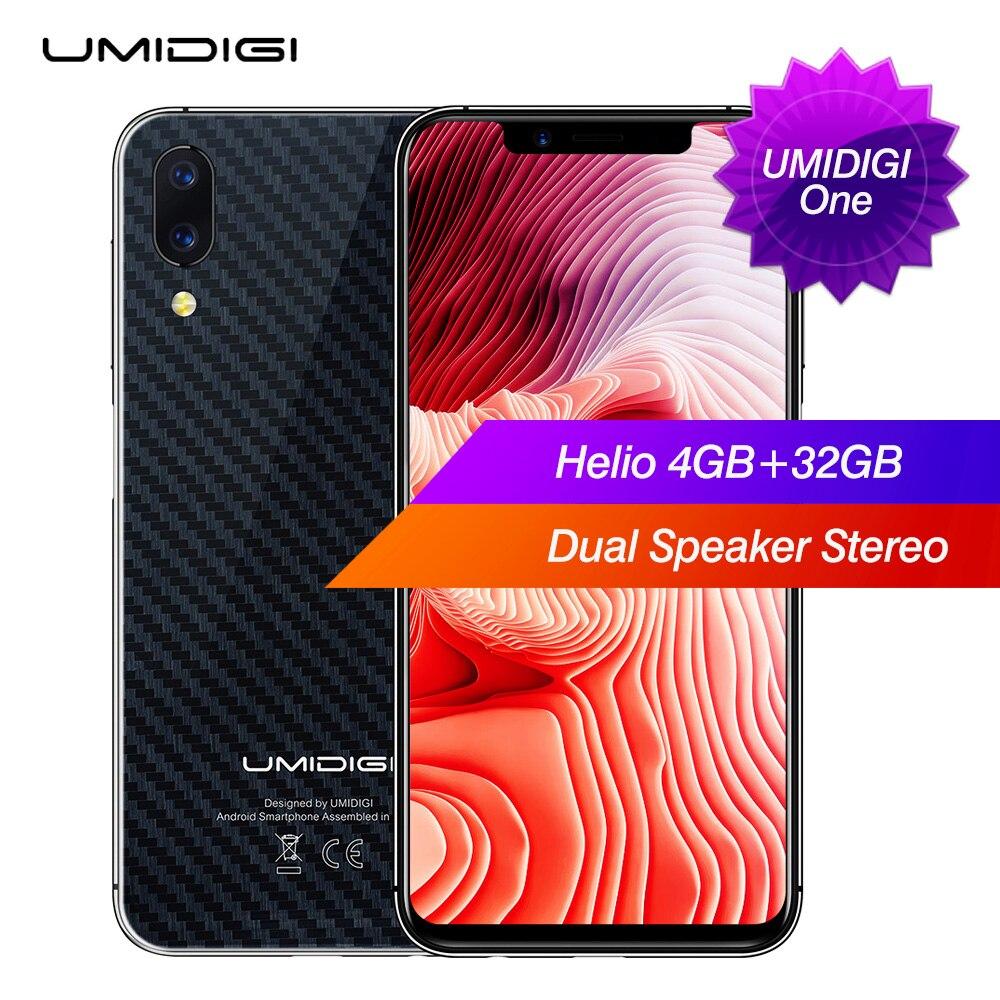 Umidigi um 4g phablet 5.86 polegada android 8.1 mtk6763 núcleo octa 4 gb ram 32 gb rom câmera dupla 16.0mp 3550 mah impressão digital global