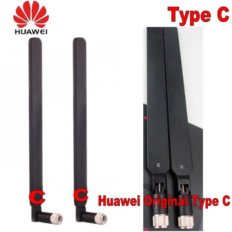 Original huawei Genuines 2 uds 4g lte antena inteligencia b593 B525 b880 b310 tipo inalámbrico C huawei gateway
