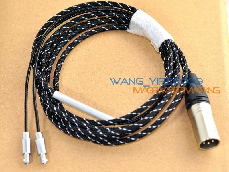 Сбалансированный кабель ручной работы для наушников с фокусным расстоянием, Utopia, XLR, 4 штырька, Разъем Cannon, 2,5 м