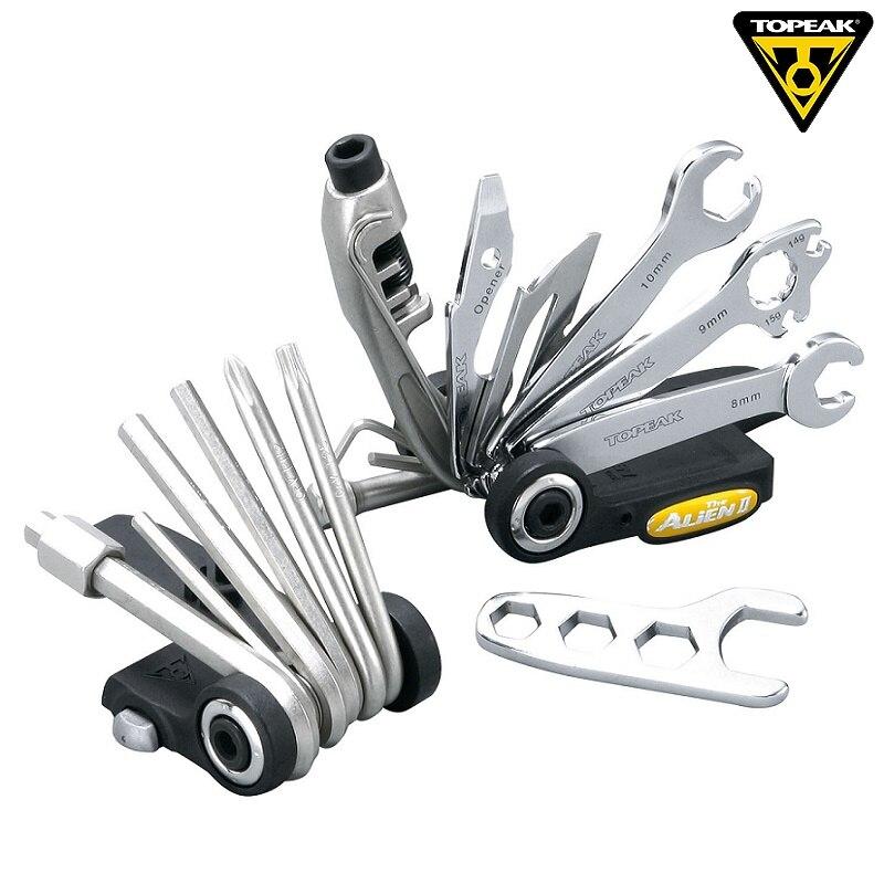 Topeak TT2353 obcych II rower narzędzie wielofunkcyjne zestaw Road Bike Repair zestaw kluczy MTB jazda na rowerze połączenie doskonałe narzędzie