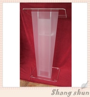 Customized acrylic podium pulpit lectern  podium acrylic lectern podium plastic church pulpit