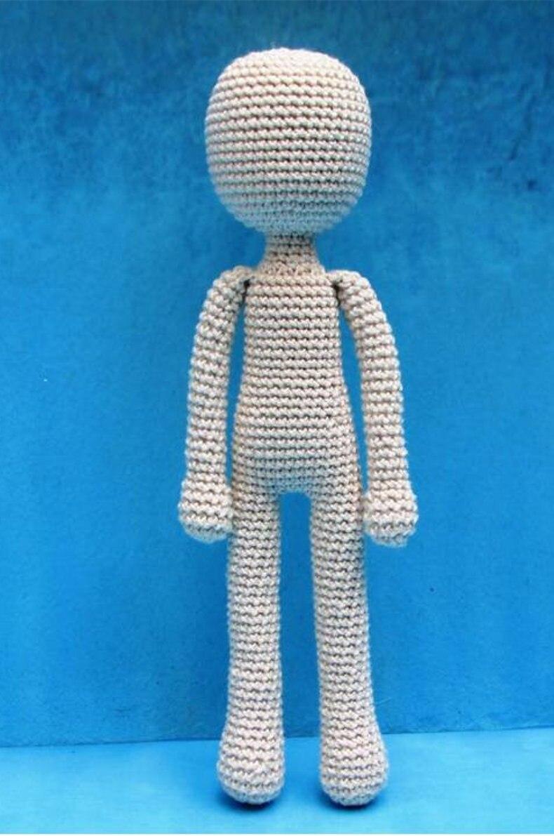 Juguetes de ganchillo doll muñeca cuerpo modelo número XC041004
