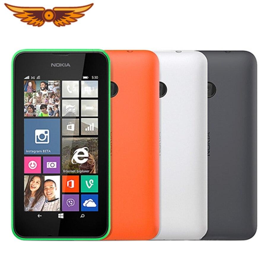 Nokia Lumia 530-teléfono inteligente, teléfono móvil Original libre con Windows OS, Tarjeta sim Dual, 4GB RAM, cámara de 5,0mp, pantalla IPS de 4,0 pulgadas, envío gratuito