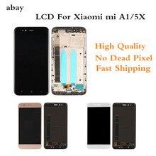 LCD pour XiaoMi Mi A1 écran daffichage à cristaux liquides pour XiaoMi 5X/A1 LCD assemblée écran tactile panneau pièces de rechange