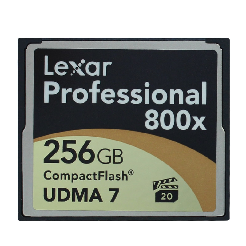 Original!!! Lexar Professional 256 GB Cartão CompactFlash CF Memory Card 800X120 MB/s UDMA 7