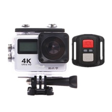 Goldfox Ultra HD 30fps WiFi caméra daction 4K caméra de sport aller 30m étanche pro DV 150D double LCD sport caméra Webcam avec télécommande