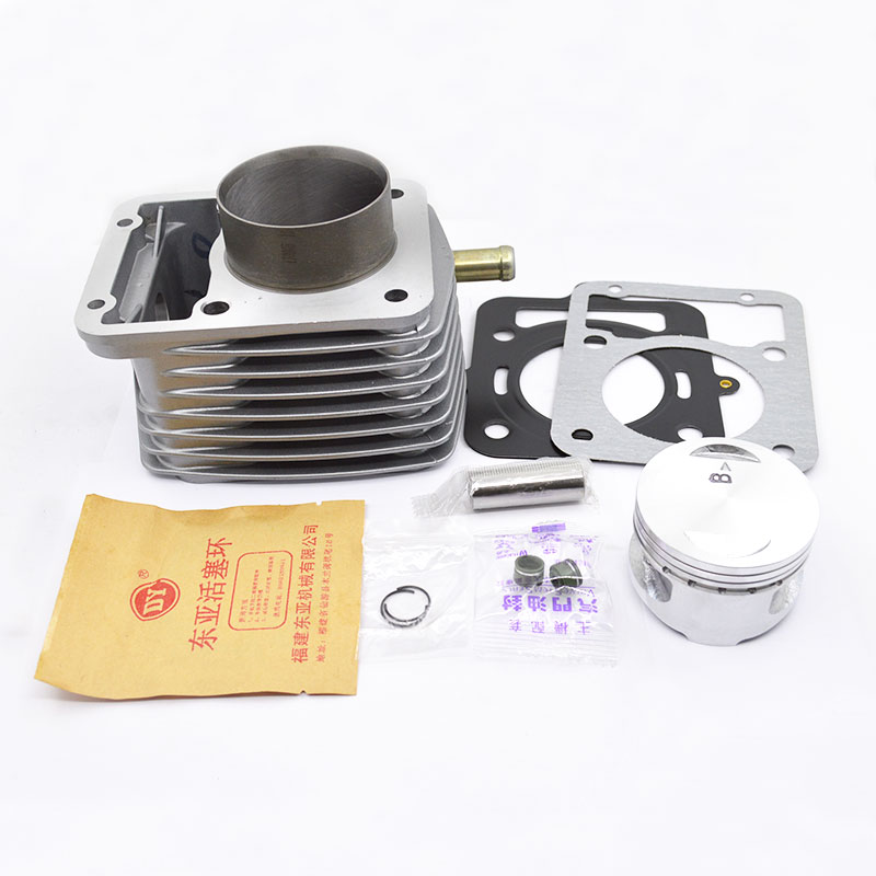Kit de cilindro de motocicleta de alta calidad para ZONGSHEN CG150 CG175 CG200-G serie Tsunami repuestos de motor refrigerado por agua