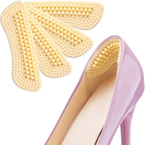 Heel Pads 2 Pairs Heel Cushions Inserts for Womens and Mens Shoes High Heels Preventing Heel Rubbing and Blisters and Slip Out