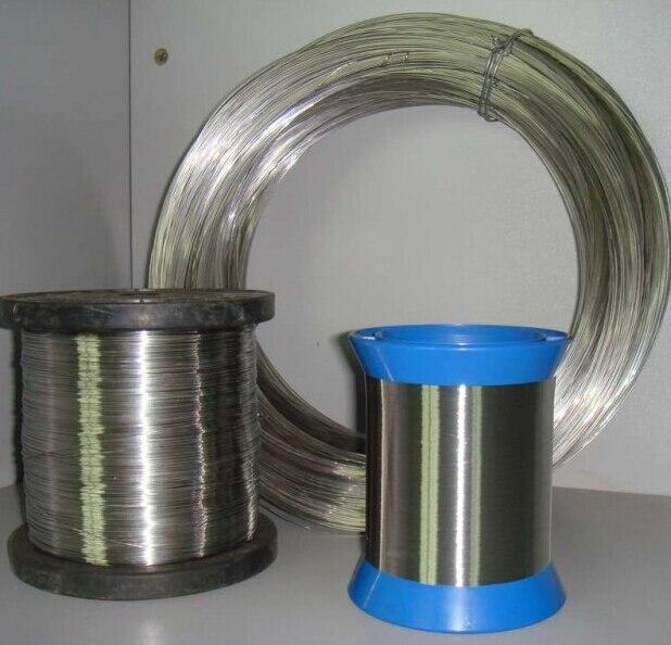 Проволока из нержавеющей стали «сделай сам», проволока с яркой поверхностью диаметром 0,4 мм, 1 кг