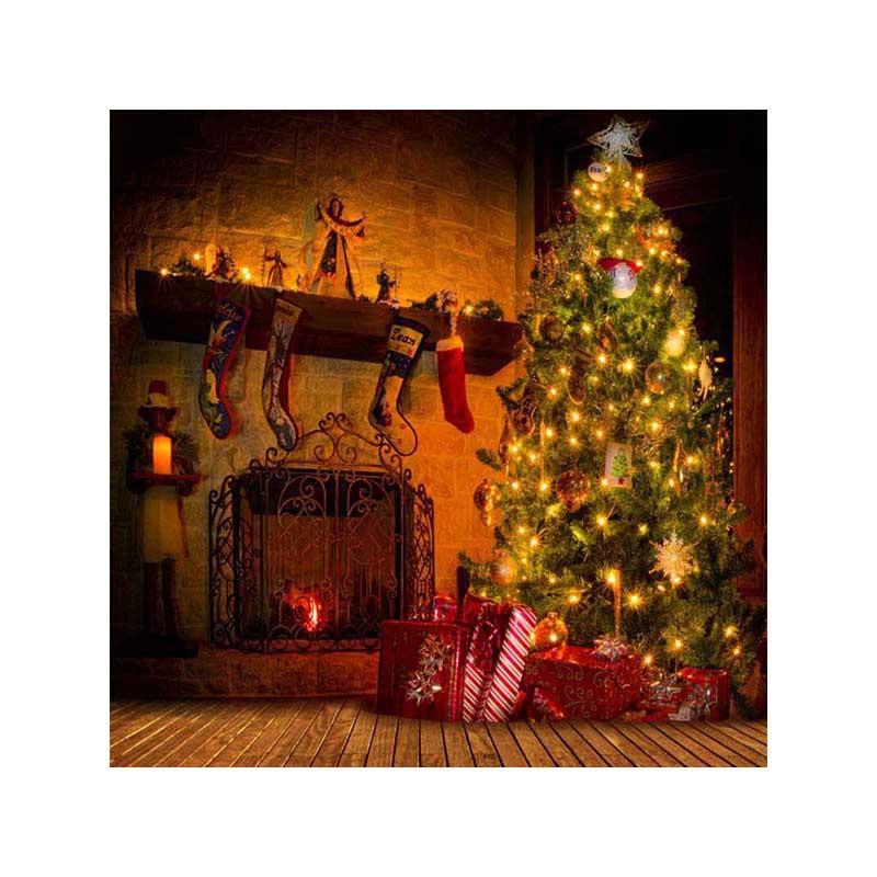 Fondo de fotografía de vinilo para estudio fotográfico fondos de Navidad 5x8ft impreso por ordenador personalizado st-170