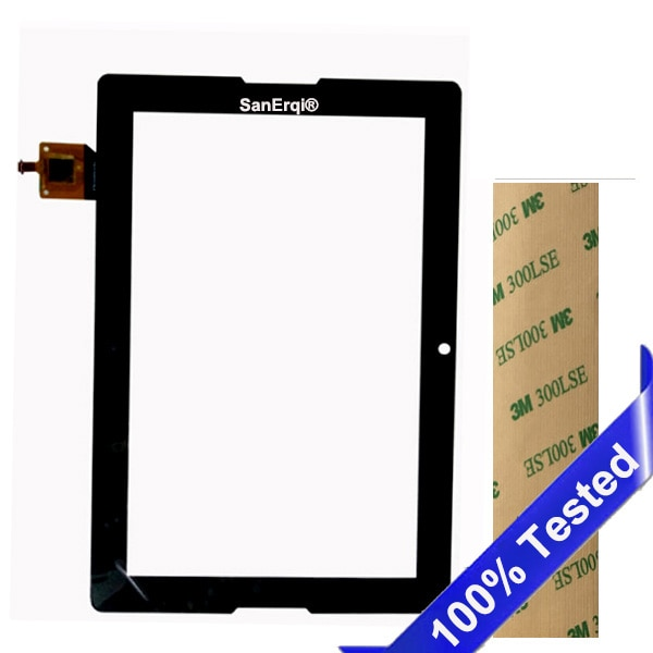 Dla Lenovo Tab A10-70 A7600 A7600-H A7600-F B0474 ekran dotykowy szkło digitizer 10.1-cal czarny