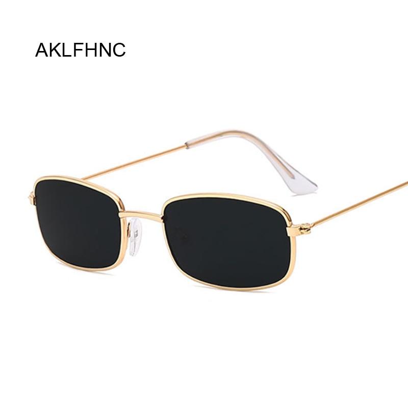 Rectangle Sunglasses Men Women Brand Designer Sun Glasses Male Female Fashion Summer Gafas Feminino
