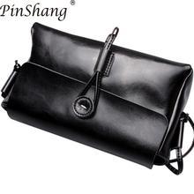 PinShang femmes sac à main en cuir bandoulière sacoche sac à main bandoulière sac de messager de mode sacs pour femmes 2018 ZK30