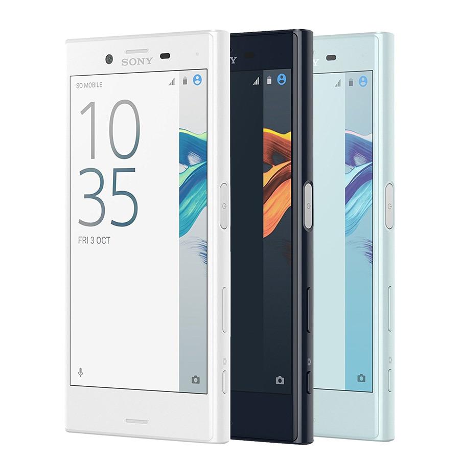 "Original New Sony Xperia X Compact  F5321 4G LTE Mobile Phone 4.6"" 3GB RAM 32GB ROM 2700mAh Android Fingerprint Single SIM Phone"