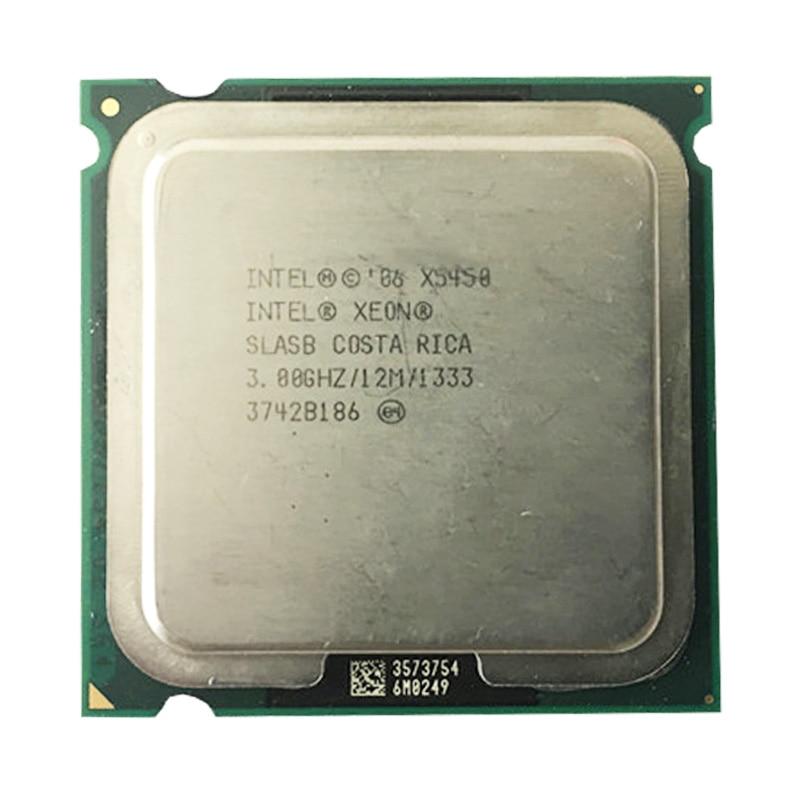intel Xeon X5450 Quad Core server CPU processor /3.0G /LGA771-775 /12MB L2 Cache/working some 775 socket X5450 CPU For