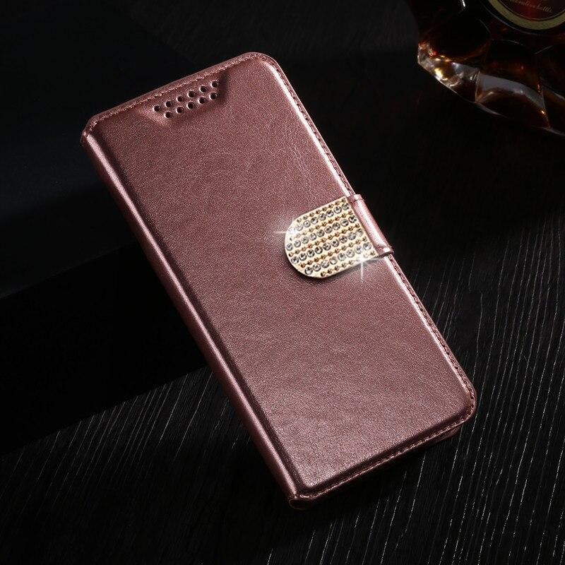 Cartera de casos para Nous fabuloso NS5008 óptima NS 5002 de 5004 de 5006 de cuero Flip cubierta protectora de la caja del teléfono