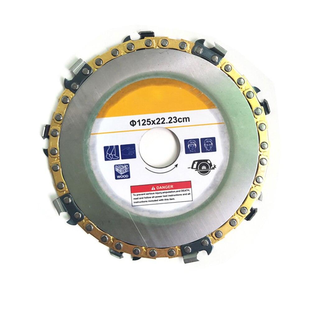 125MM/115MM Grinder Disc Angle Grinder Chain Saw Disc Blade Wood Carving Disc for Angle Grinde