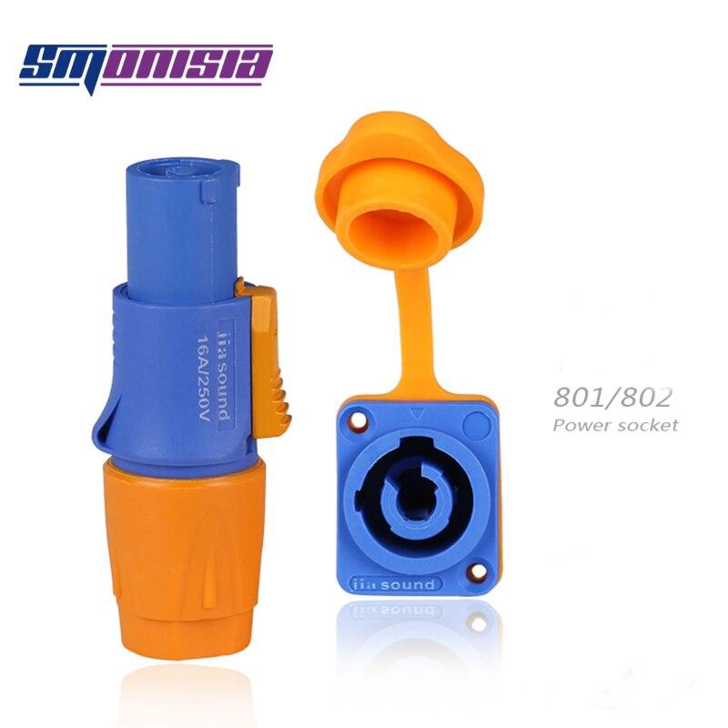 Smonisia 50 قطع للماء الطيران موصل الطاقة المرحلة ضوء الشعاع الصمام عرض الشاشة المكونات مقبس