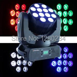 4 unids/lote con caja de vuelo luz led 12x10w 4 en 1 RGBW led beam cabezal móvil wash dj luz Lira led disco bar para disco bar