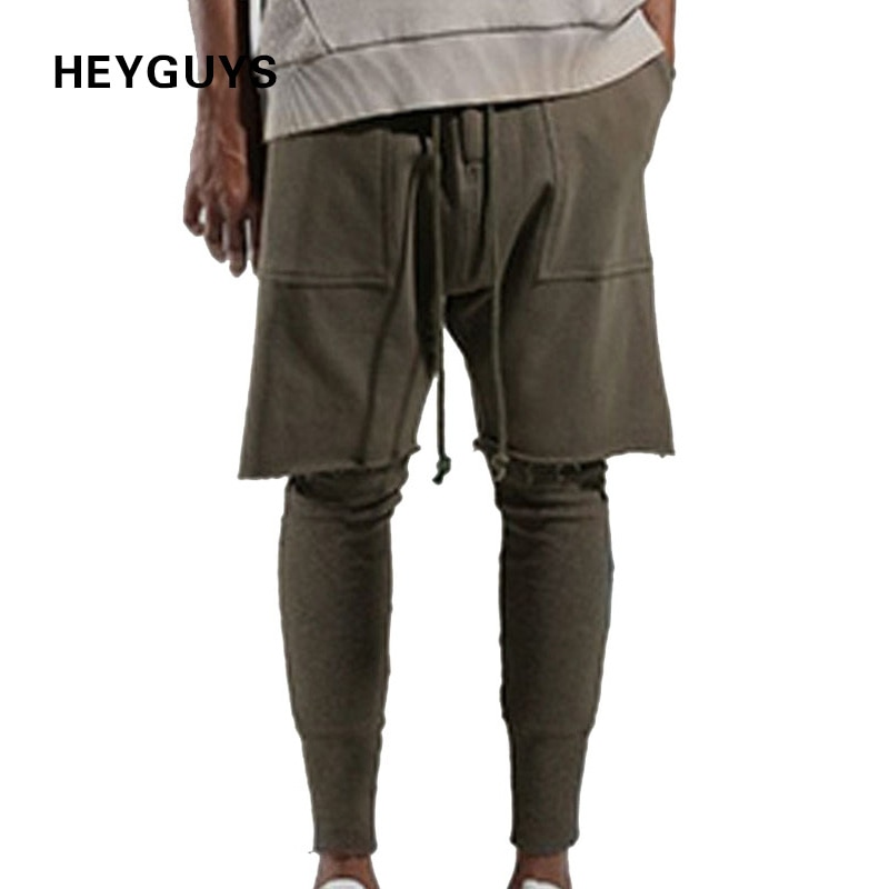 HEYGUYS2020 Fitness Lange Hosen Männer Casual Jogginghose Baggy Jogger Hosen Mode Ausgestattet Böden streetwear hiphop