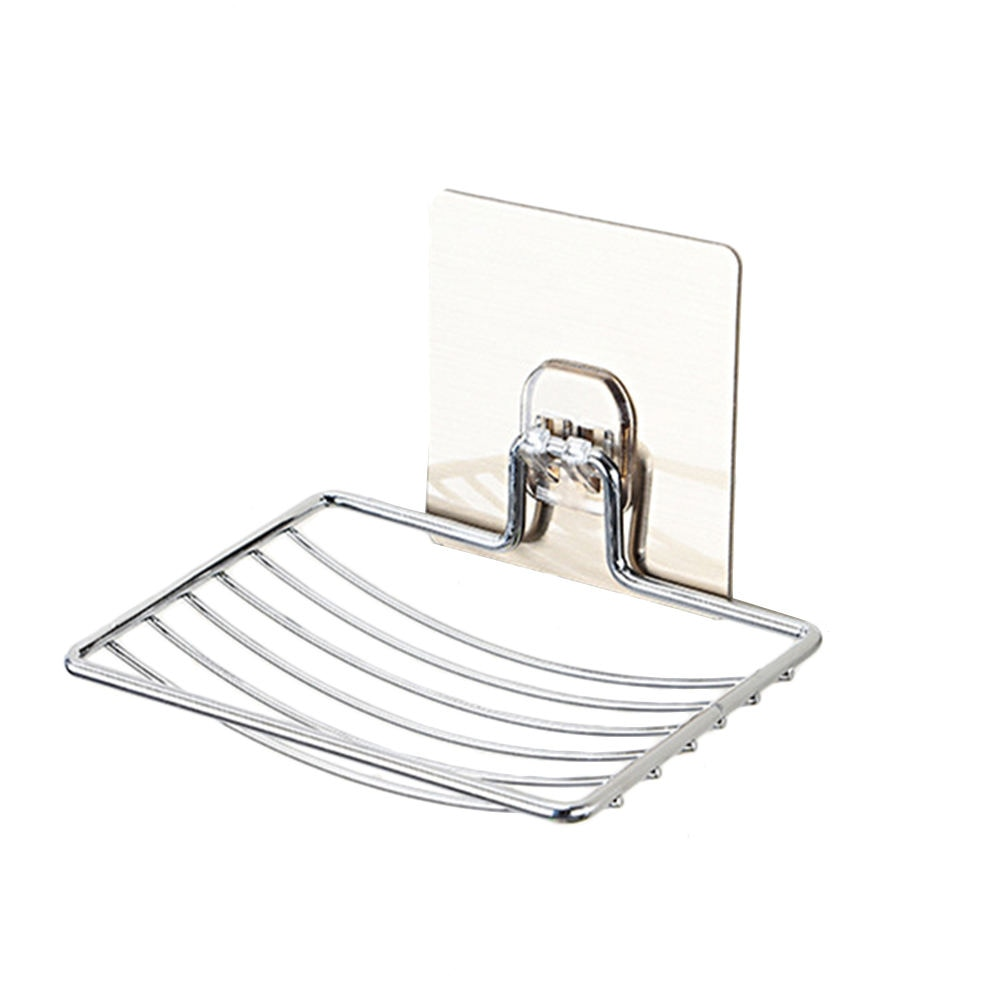 Нержавеющая сталь мыльница для ванной комнаты Стеллаж для мыла тарелка коробка контейнер настенный держатель для хранения