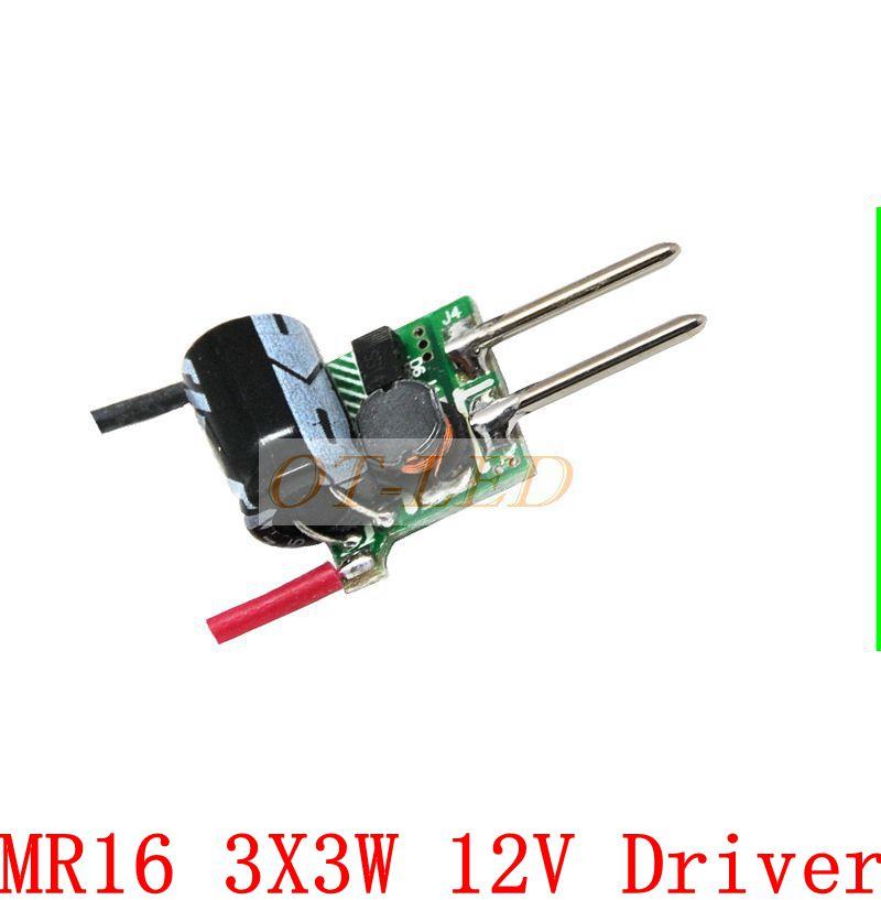 10pcs 3X3W LED MR16 driver, 3*3W transformer power supply for MR16 12V lamp, power 3pcs 3W LED high power lamp Led, Free ship