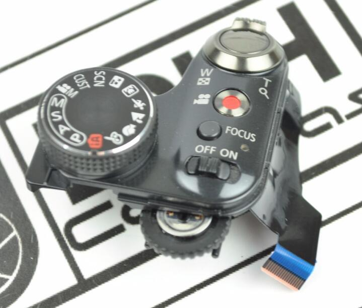 New for Panasonic FOR Lumix DMC-FZ48 fz48 Top Cover Mode Dial Shutter Button Board Flex Cable