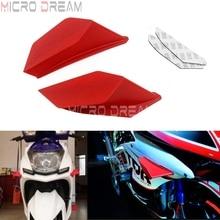 Kit dailes dynamiques pour Ducati Yamaha Suzuki   Moto, Winglet aérodynamique, Kit dailes dynamiques universelles, pour Ducati Yamaha Suzuki Honda NC750 Vario CBR YZF R3