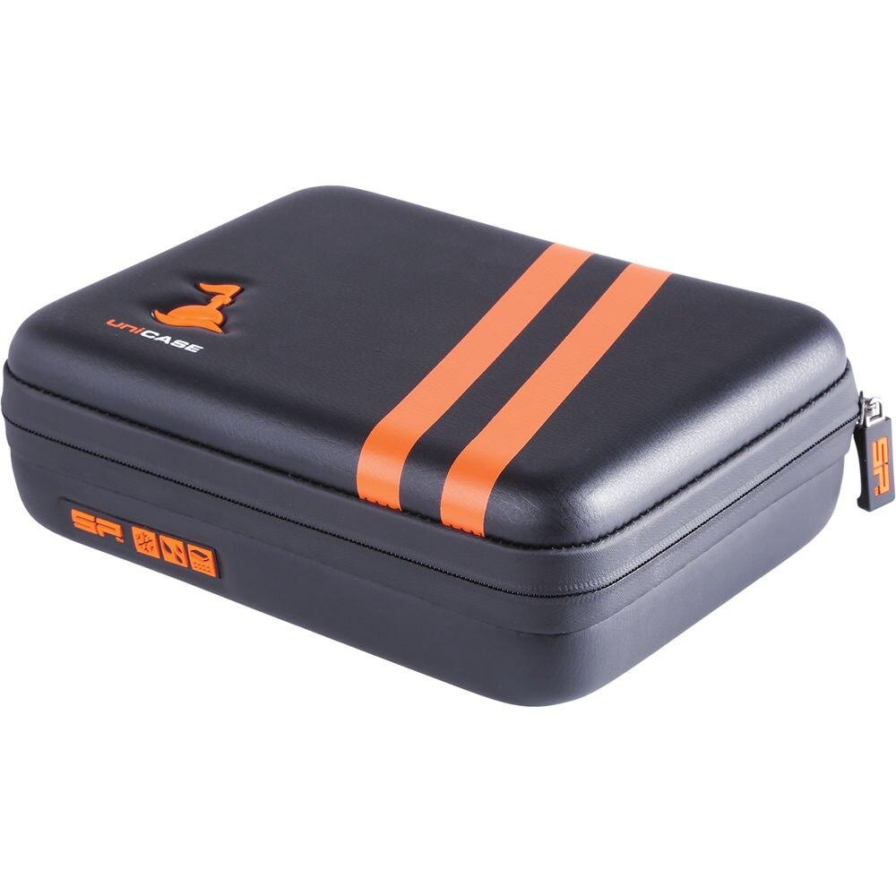 Sp-gadgets uniCASE AQUA (pequeño, negro) funda resistente al agua para Cámara de Acción Insta360 ONE X GoPro