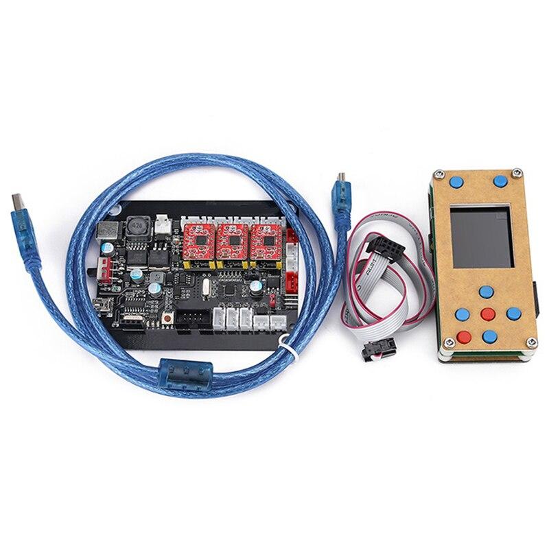 Tarjeta de controlador Grbl sin conexión 3 ejes Motor paso a Paso doble Y eje Tarjeta de controlador Usb para Grbl para grabado de máquina tallada