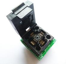Livraison gratuite TQFP32 QFP32 LQFP32 À DIP28 adaptateur prise soutien ATMEGA8 ATMEGA8A ATMEGA328 AVR MCU TL866A TL866II