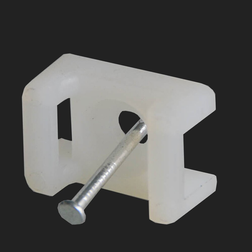 Купить с кэшбэком xintylink fixed seat 100pcs buddle saddle type plastic holder cable tie mounts wire base zip mount base Wiring accessories