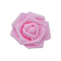 Tetes de Roses artificielles en mousse de polyethylene  6cm  50 pieces par lot  fausses fleurs  pour un mariage  une maison  un Festival  des fleurs decoratives  des couronnes  a faire soi-meme