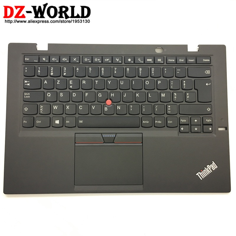 Orig para Thinkpad Novo Carbono 3rd Gen 3 Bélgica Teclado Retroiluminado w Touchpad Palmrest 00hn951 00ht306 Sn20g18571 Ser – x1