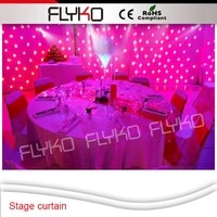 free shipping low price more led lamp 3x2m white led starry curtain