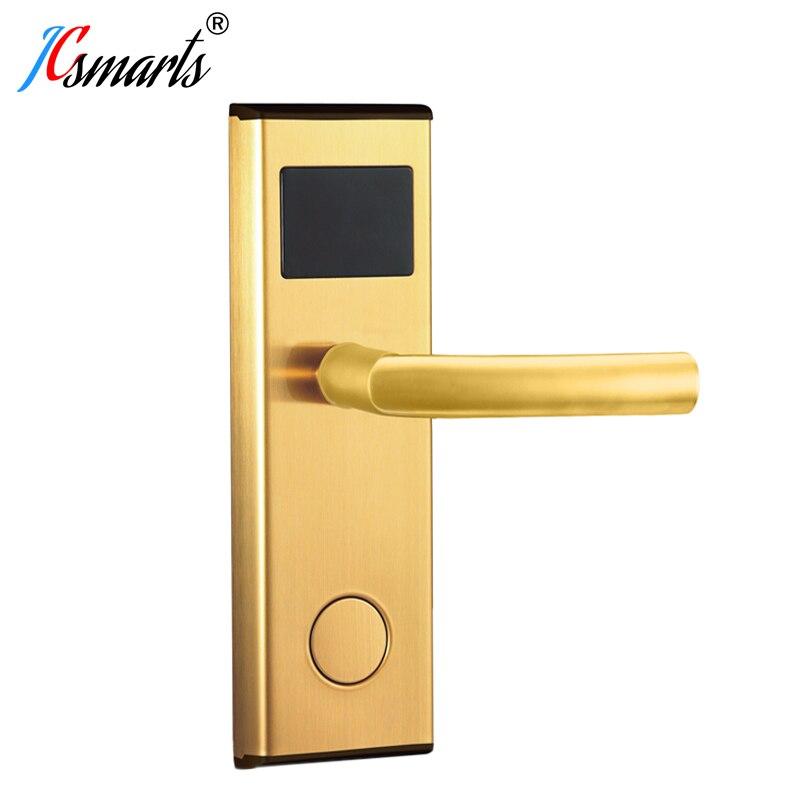 عالية الجودة نظام الوصول الرقمي الكهربائية تعزيز ذكي الإلكترونية بطاقة فتح غرف فنادق قفل الباب