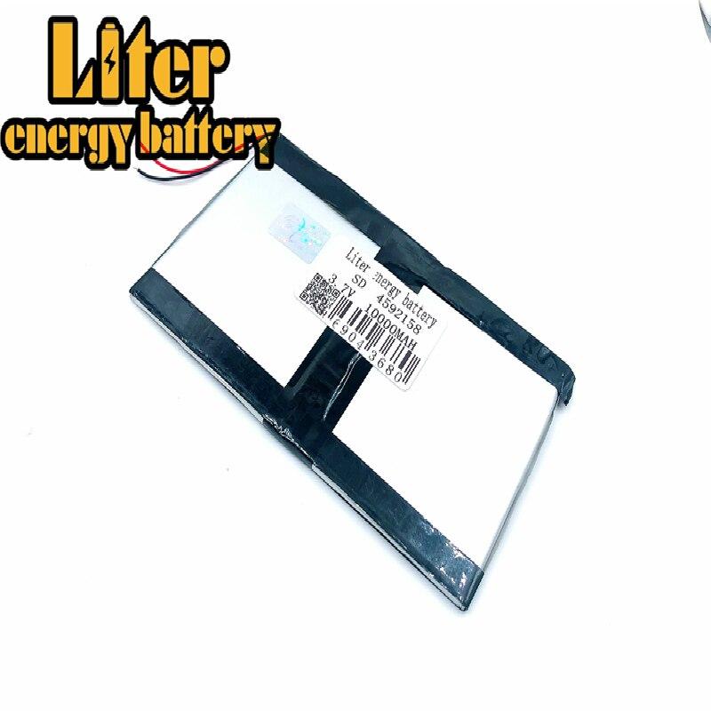 Tablet Pc 3.7 v, 4592158 4590160 10000mah (Bateria de Iões De Lítio polímero) bateria Li-ion Para 9.7 Polegada 10.1