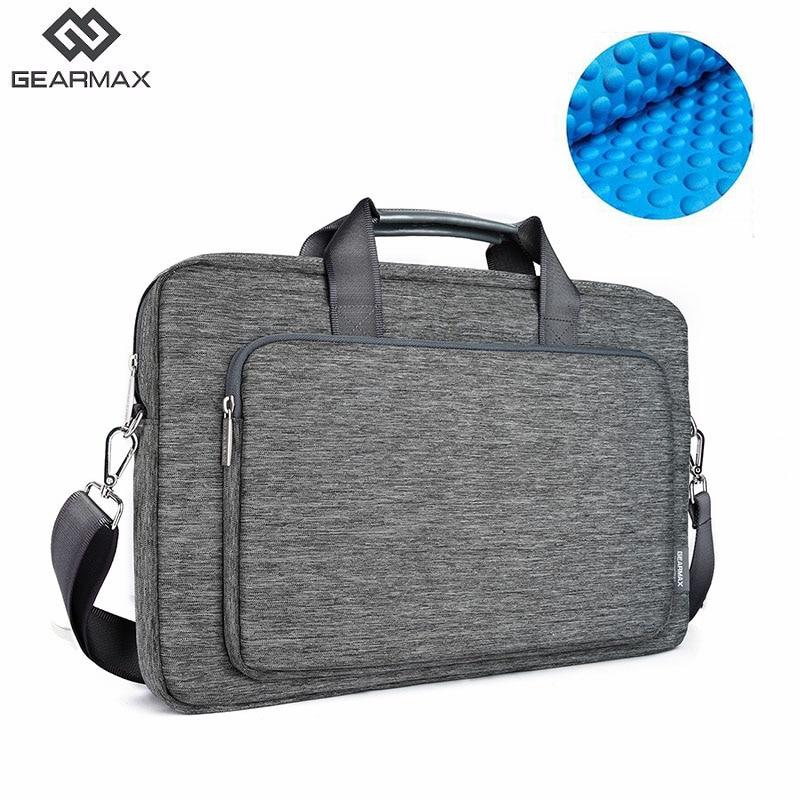 WIWU сумка через плечо для ноутбука Xiaomi Notebook 11 12 13,3 14 15,6 17 водонепроницаемая сумка через плечо для Macbook Air Pro 13