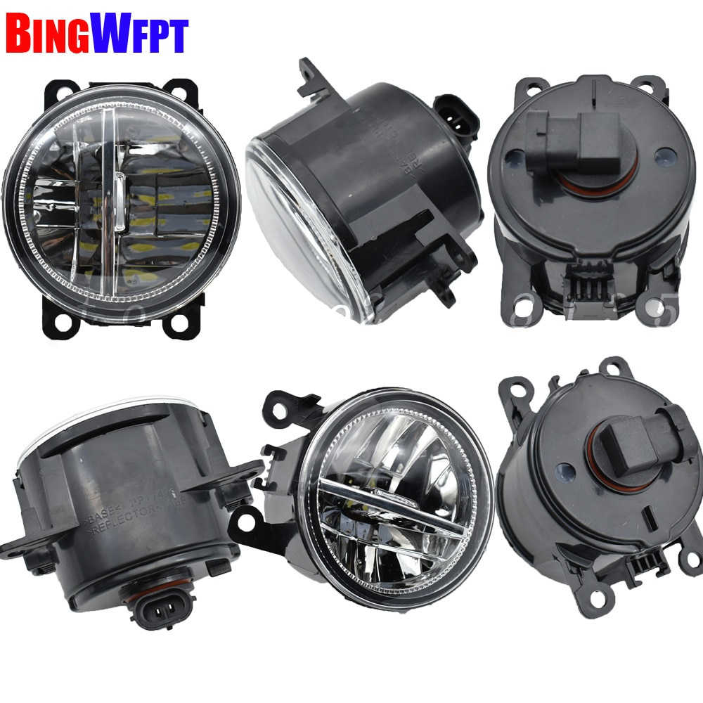 Luces antiniebla LED superbrillantes para Nissan Interstar Box X70 2002-2010, Luz antiniebla para parachoques frontal derecho izquierdo