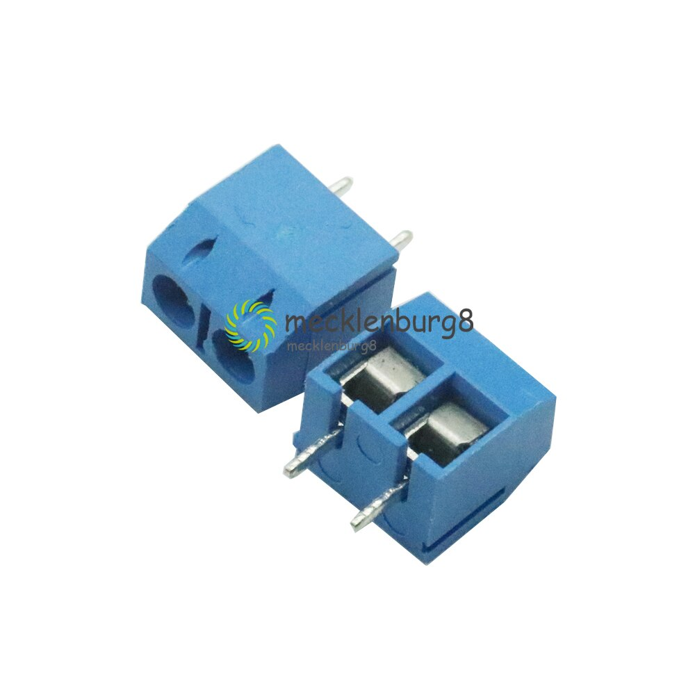 10PCS KF301-2P 5.08mm 2 Pin Connect Terminal Screw Terminal Connector