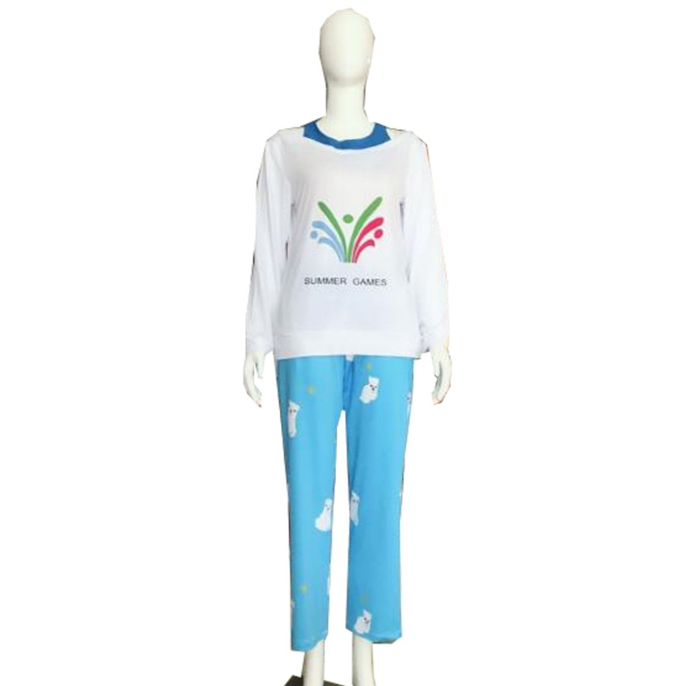 2018 Ow Kawaii Mei летние игры свитер CG Rise and Shine Косплей пижамы Meiling Zhou костюм Mei Polar Bear брюки