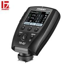 JINBEI TR-Q7 Flash HSS Trigger for Canon Nikon Sony Fuji Olympus Panasonic Radio Photography Light Wireless Remote Transmitter