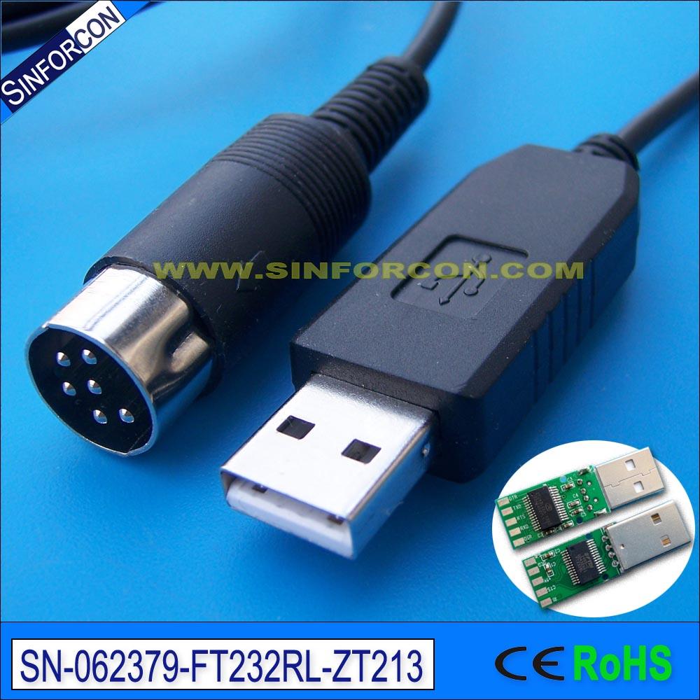 Ftdi ft232 usb rs232 адаптер кабель для управления кошкой для kenwood ts-450s ts690 ts 790 ld-150