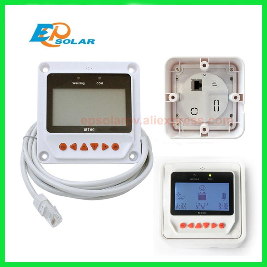 Solar Controller Remote Meter MT-50 for TRACER BN Series MPPT Tracer 2215BN 3215BN 4215BN itracer6415ND VS3024BN EPsolar MT50