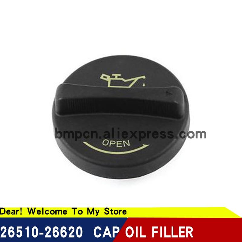 1 Uds para hyundai elantra sonata acento de aceite de motor de cubierta de tapón de relleno de aceite original 2651026600