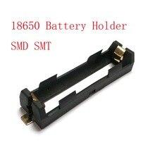 Haute qualité 1X18650 support de batterie SMD SMT boîte de batterie avec broches en Bronze rayonnant le support de chaleur de coque de batterie