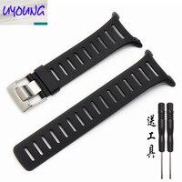 UYOUNG SUUNTO T1 T1C T3 T3C T3D T4C T4D rubber silicone wristband